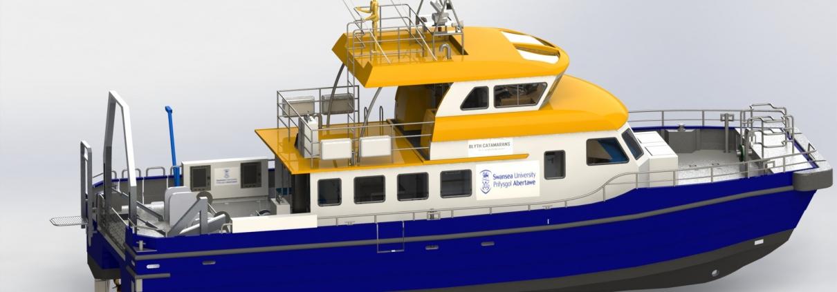 Blyth Catamarans 18m Survey Vessel